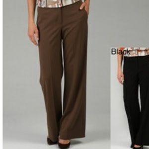 Larry Levine Brown Dress Pants Size 14